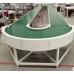 Поворотная лента конвеерная PVC (ПВХ), PU (ПУ) модульная