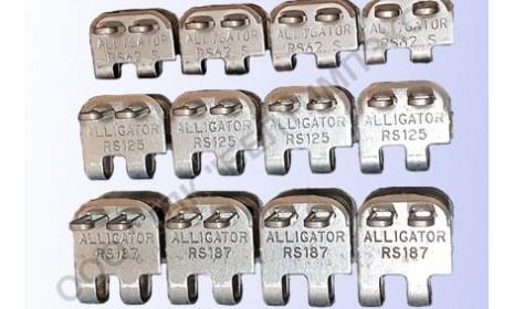 Механические соединители ленты ALLIGATOR RS62 RS125 RS187