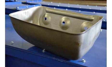 Ковши норийные цельнотянутые метал